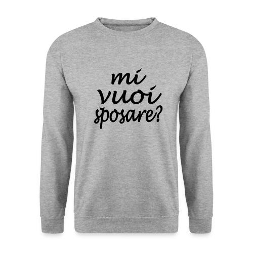 mi vuoi sposare - Männer Pullover