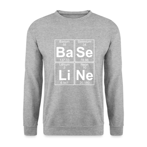 Ba-Se-Li-Ne (baseline) - Full - Men's Sweatshirt