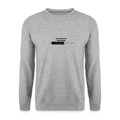 Doctorante en chargement - Sweat-shirt Homme