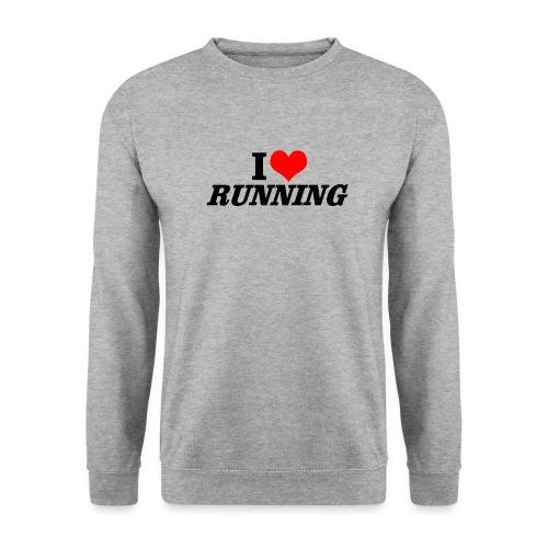 I love running - Unisex Pullover