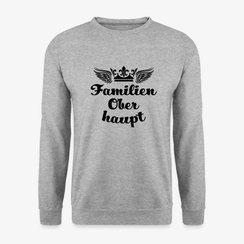 45 Familien Oberhaupt Krone Flügel - Männer Pullover