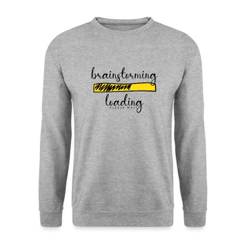 brainstorming is loading - Unisex Pullover