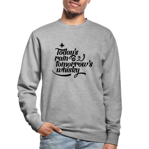 Todays's Rain Women's Tee - Quote to Front - Unisex Sweatshirt