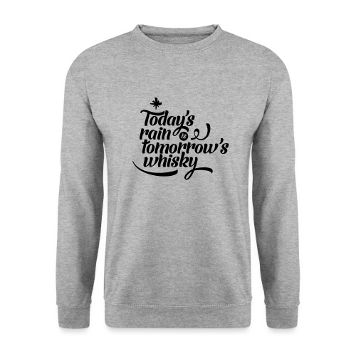 Todays's Rain Women's Tee - Quote to Front - Men's Sweatshirt
