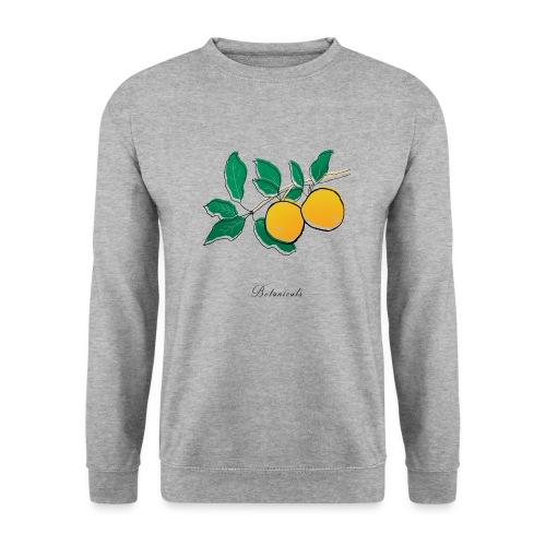 Disegno pianta di arance - Felpa da uomo