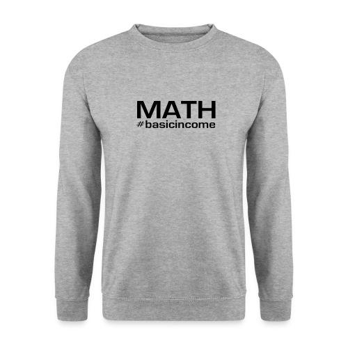 math-black - Unisex sweater