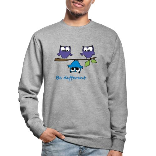 Vogel auf Ast - Be different - Unisex Pullover