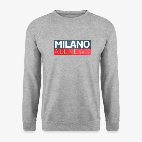 Milano AllNews Logo - Felpa da uomo