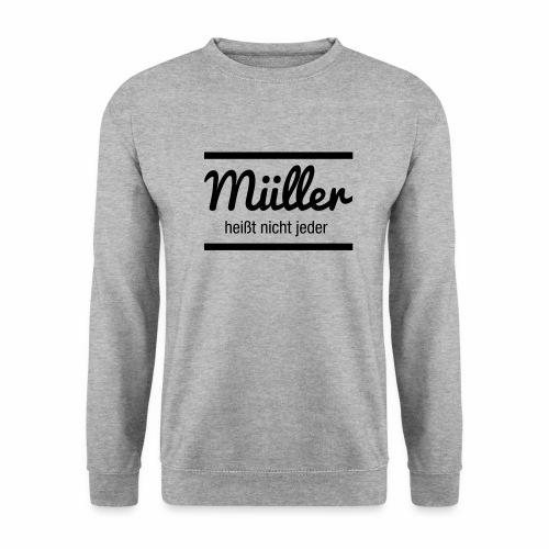 Müller Namensschild - Männer Pullover