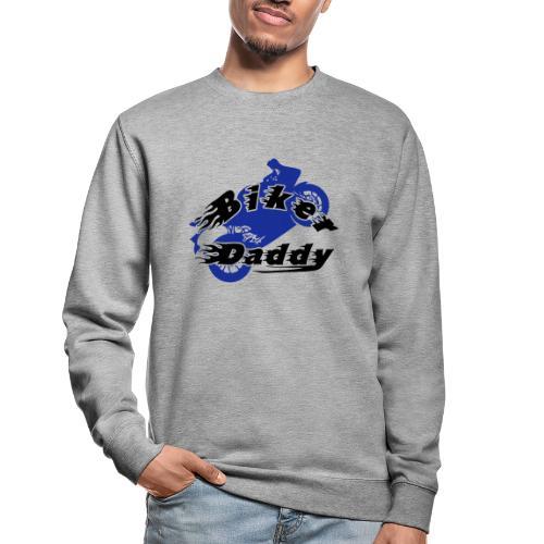 Motorrad Papa Vater Biker Daddy Geschenk - Unisex Pullover