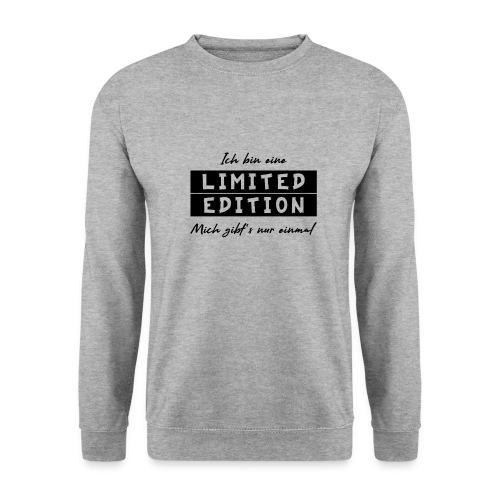ich bin eine limit edition - Männer Pullover