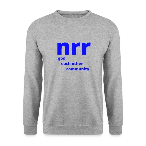 NEARER logo - Men's Sweatshirt
