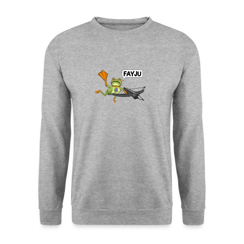 Amazing Frog Crossbow - Men's Sweatshirt