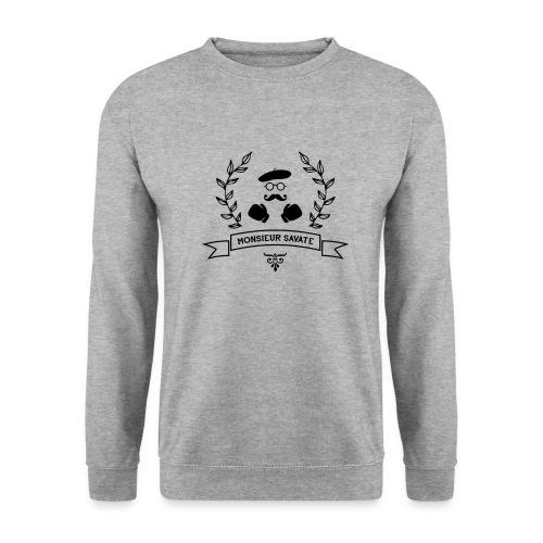 Monsieur Savate logo1 - Sweat-shirt Homme