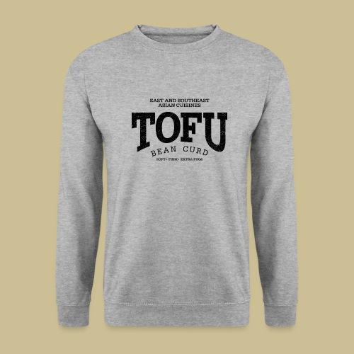 Tofu (black oldstyle) - Unisex Pullover