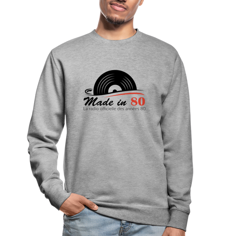 Made in 80 - Sweat-shirt Unisexe