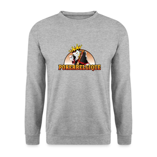 Logo Poker Belgique - Sweat-shirt Unisex