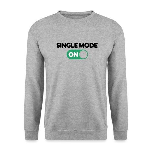 single mode ON - Felpa da uomo