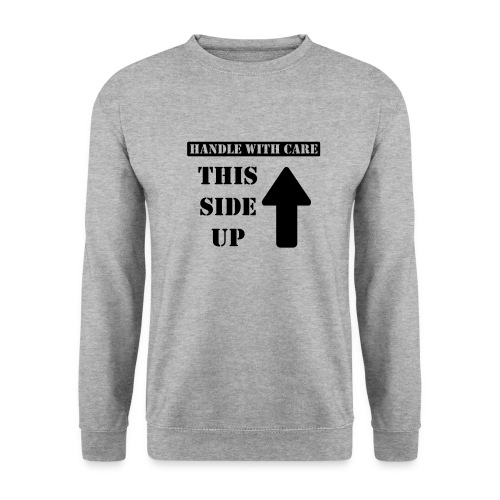 Handle with care / This side up - PrintShirt.at - Männer Pullover