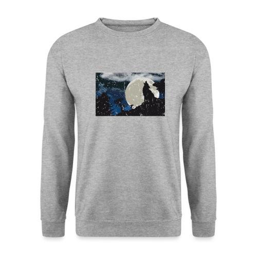 Wolf versus Mond - Unisex Pullover