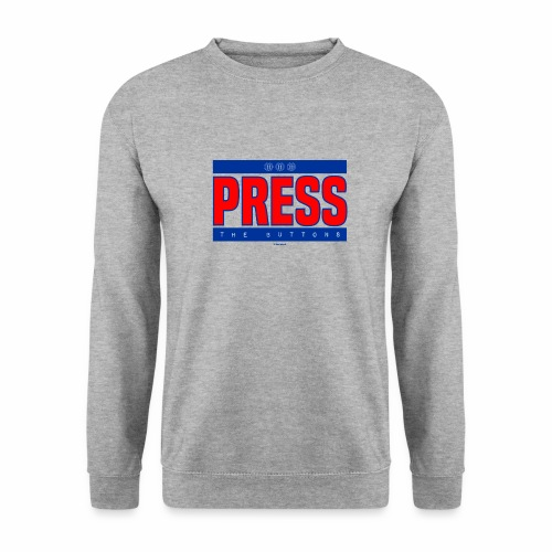 Press the buttons - Unisex sweater