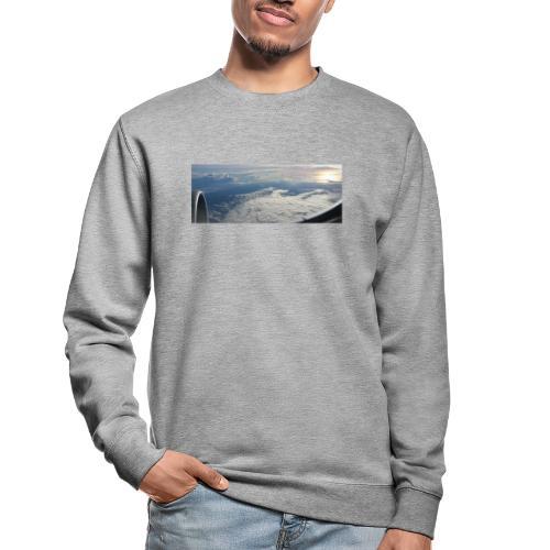 Flugzeug Himmel Wolken Australien - 2. Motiv - Unisex Pullover