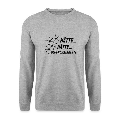 Blockchainkette - Männer Pullover