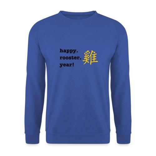 happy rooster year - Unisex Sweatshirt