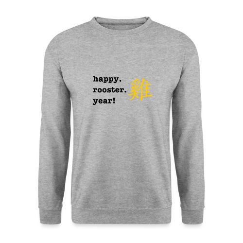 happy rooster year - Men's Sweatshirt