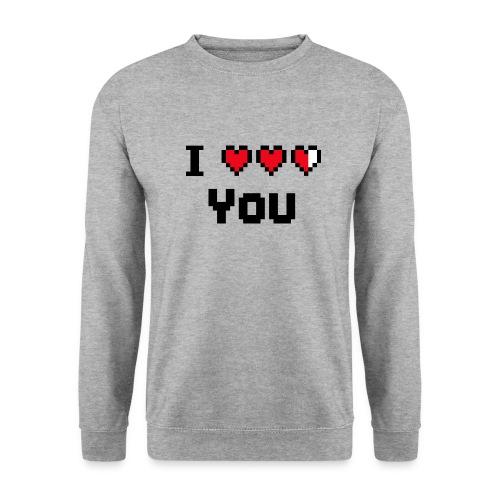I pixelhearts you - Mannen sweater