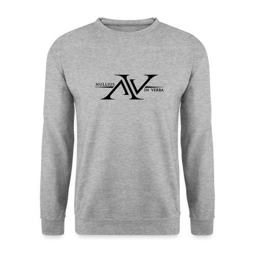 Nullius In Verba Logo - Men's Sweatshirt