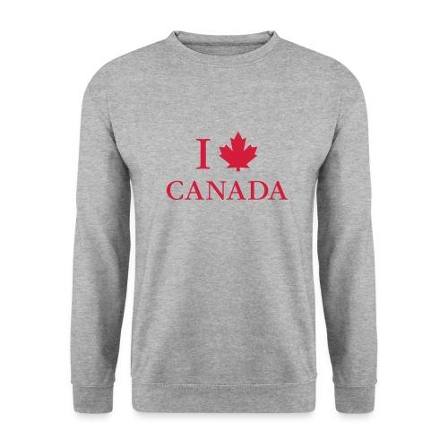 I love Canada Ahornblatt Kanada Vancouver Ottawa - Men's Sweatshirt