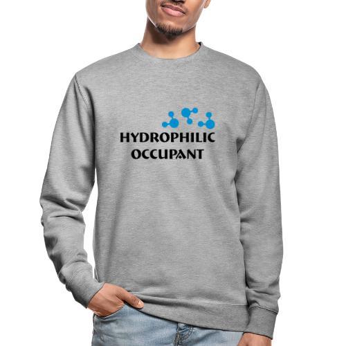 Hydrophilic Occupant (2 colour vector graphic) - Unisex Sweatshirt