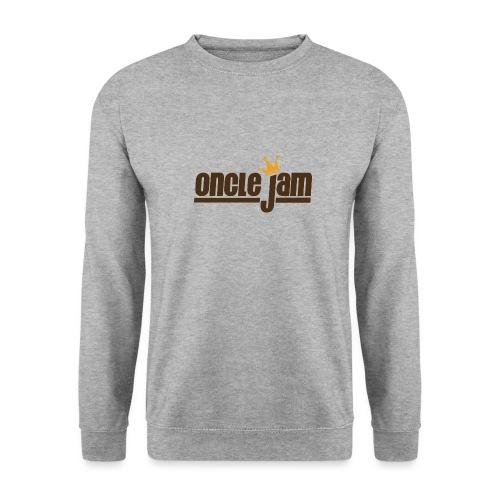 Oncle Jam horizontal brun - Sweat-shirt Unisexe
