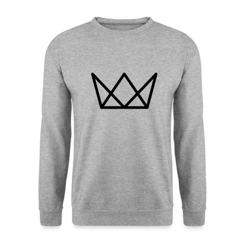 TKG Krone schwarz CMYK - Unisex Pullover