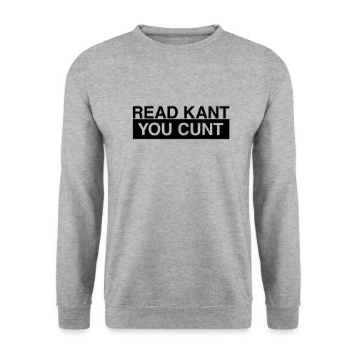 Read Kant You Cunt! - Männer Pullover