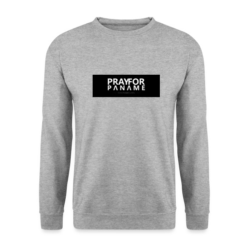 TEE-SHIRT HOMME - PRAY FOR PANAME - Sweat-shirt Unisex