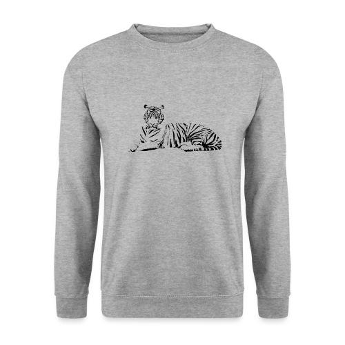 Weisser Tiger Shirt Geschenk - Männer Pullover