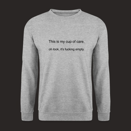 cup of care - Männer Pullover