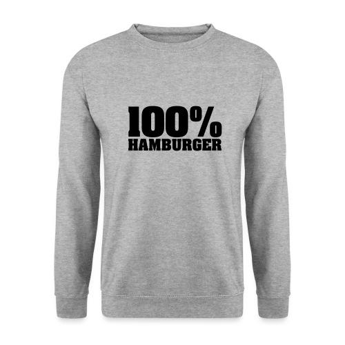 100% Hamburger, Hamburger, echter Hamburger - Männer Pullover