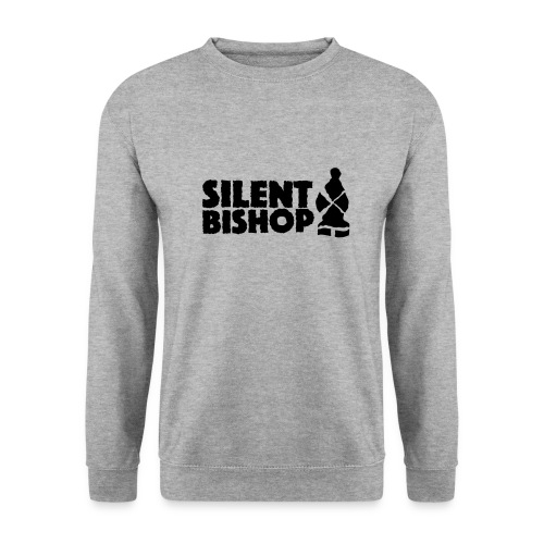 Silent Bishop Logo Groot - Unisex sweater