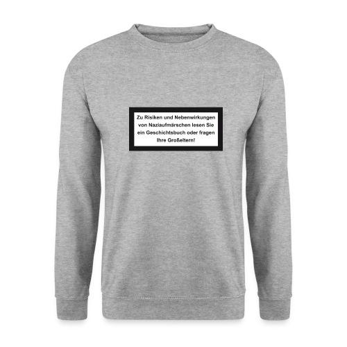 Risiken und Nebenwirkungen - Männer Pullover
