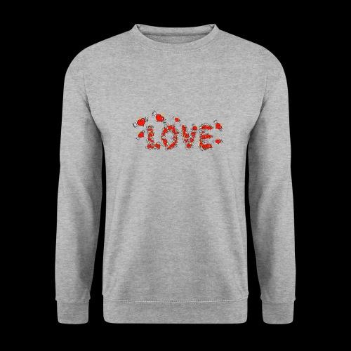 Flying Hearts LOVE - Men's Sweatshirt