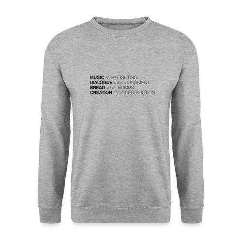 slogan png - Mannen sweater