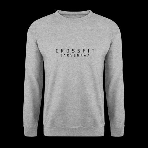 CrossFit Järvenpää mustateksti - Unisex svetaripaita