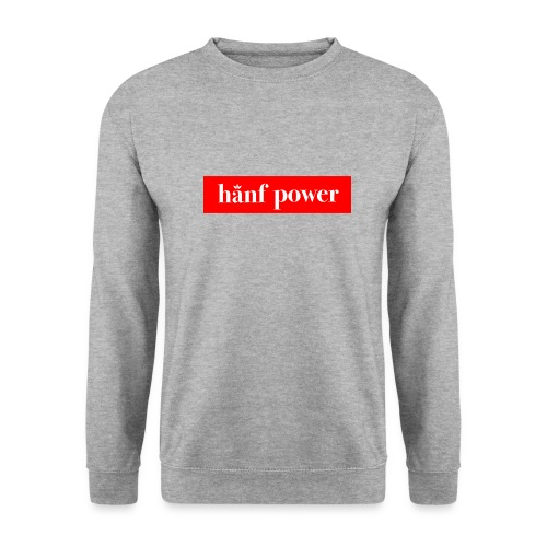 Hanf Power RED - Unisex Pullover
