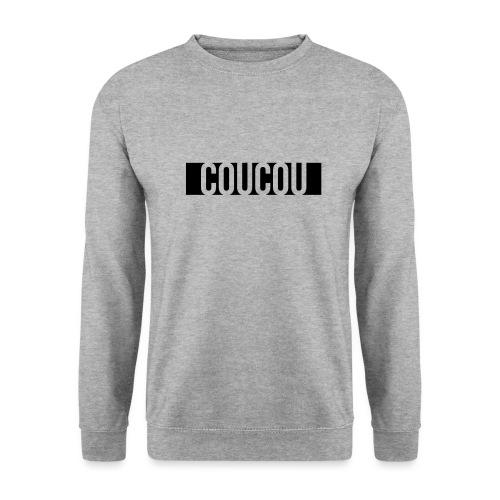 Coucou [1] Black - Sweat-shirt Unisex