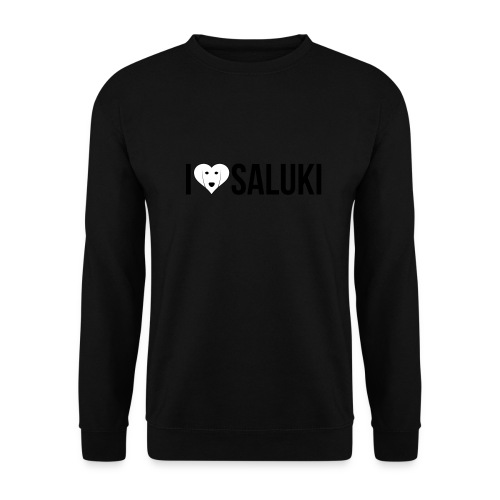 I Love Saluki - Felpa unisex