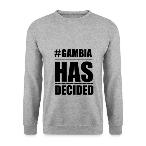 GAMBIA_HAS_DECIDED - Men's Sweatshirt