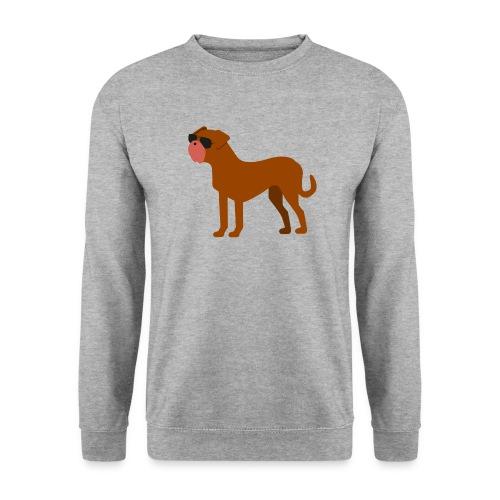 bordeauxdogge png - Unisex Pullover